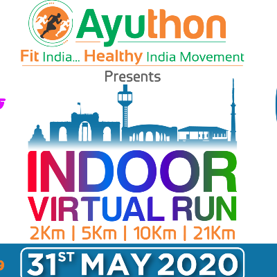 Ayuthon Presents INDOOR VIRTUAL RUN 2020