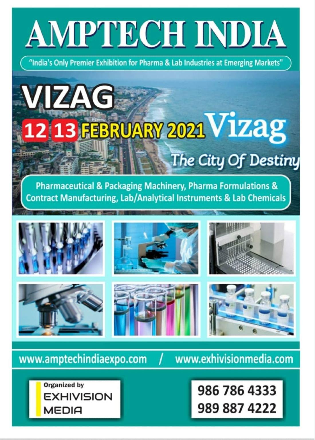 AMPTECH INDIA PHARMA & LAB EXPO - VIZAG