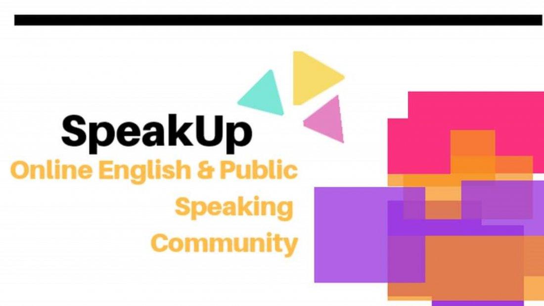 SpeakUp- Online  Public & English Speaking Global Community