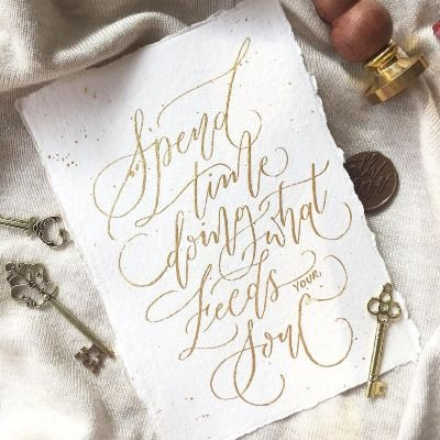 Online Modern Calligraphy Workshop With Material (For Beginners)