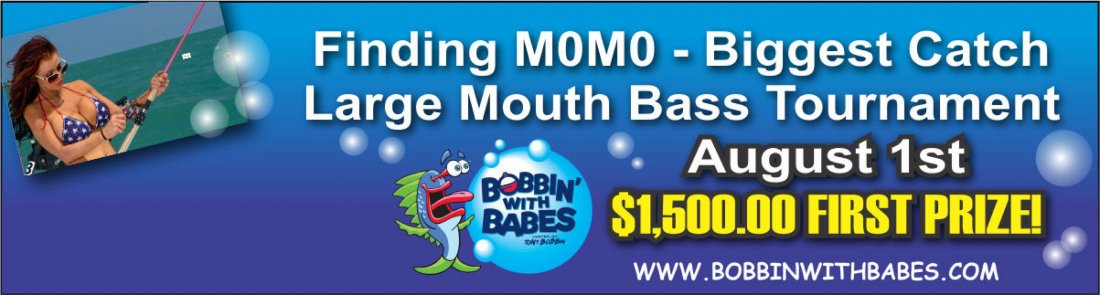 Finding M0M0 - Biggest Catch Large Mouth Bass Tournament