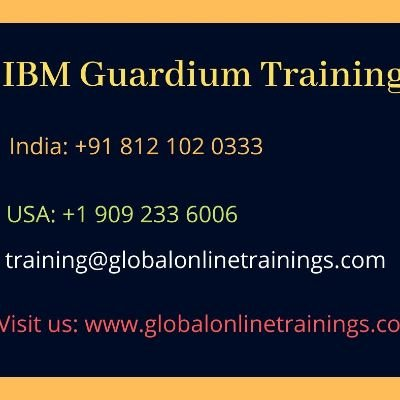 IBM Guardium Training  IBM Guardium Corporate Training
