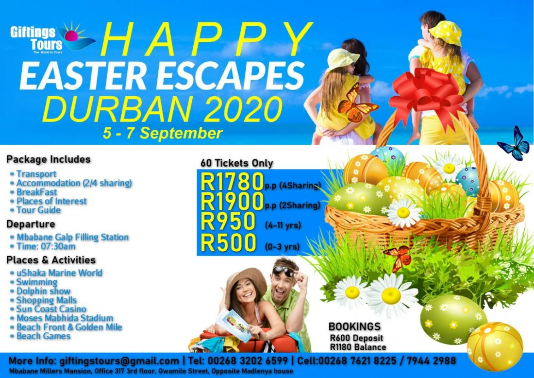Durban Easter Vacation
