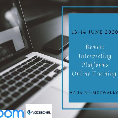 Remote Simultaneous Interpreting - 13-14 June