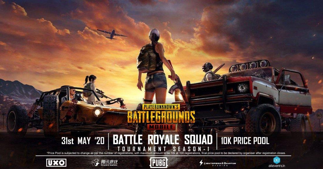 PubG Battle Royal Squad tournament
