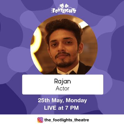 Instagram LIVE with Rajan Thakar - Actor.