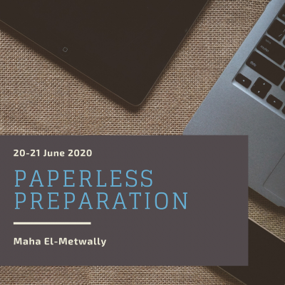 Paperless Preparation