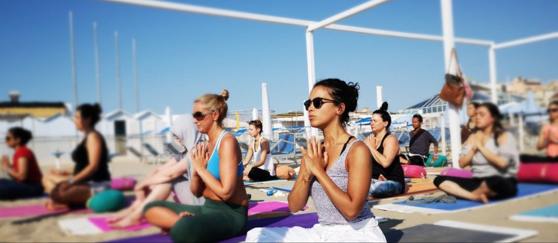 100 Hour Yoga Teacher Training in Italy (Beach), 11 April | Event in Rimini | AllEvents.in