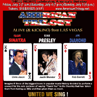 AMERICAN TRILOGY - ALIVE (& KICKING) FROM LAS VEGAS