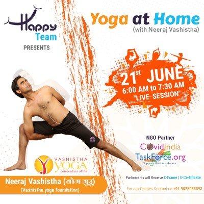 Yoga at Home with Neeraj Vashistha
