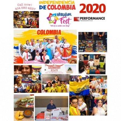 Independencia De Colombia En Atlanta