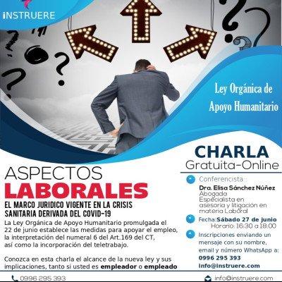 Charla gratuita Ley Humanitaria-Aspectos Laborales