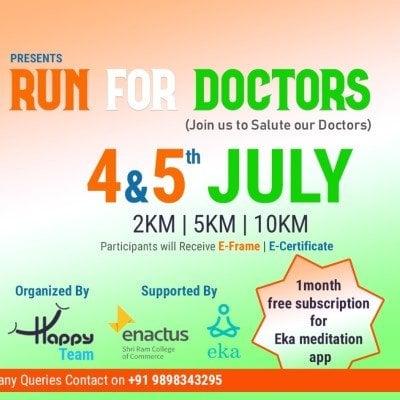 Run for Doctors A charity Virtual Run