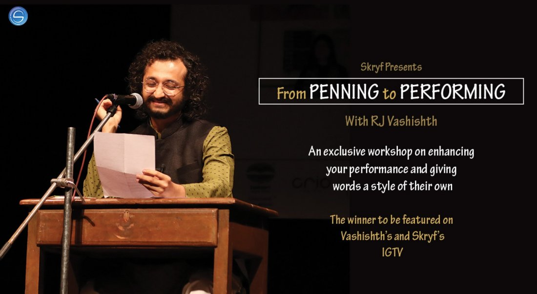 From PENNING to PERFORMING With RJ Vashishth