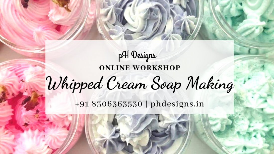 Whipped Cream Soap Making Online Workshop