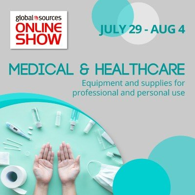 Global Sources Online Show - Medical and Healthcare