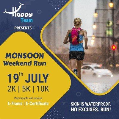 Monsoon Weekend Run 2020