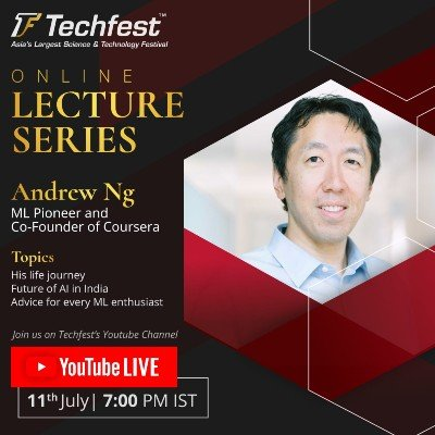 Online Lecture Series  Andrew Ng