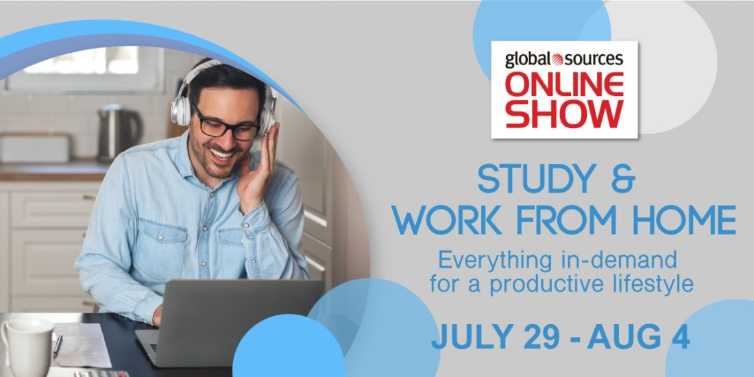 Global Sources Online Show - Study and Work from Home