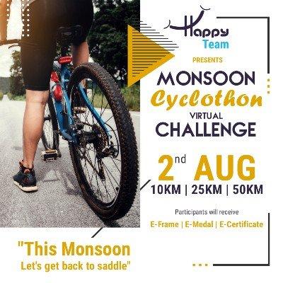 Monsoon Cyclothon Virtual Challenge