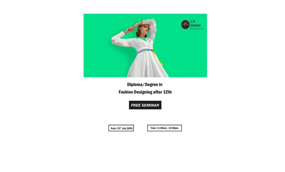 Career In Fashion Design After 12th At Online Online