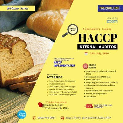 HACCP Internal Auditor