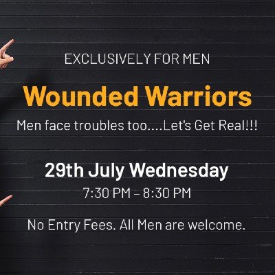 The Wounded Warriors Meet