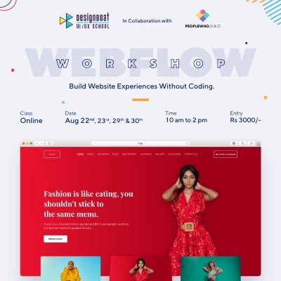 Webflow Design Workshop