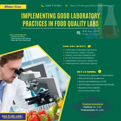 Implementing Good Laboratory Practices in Food Quality Labs