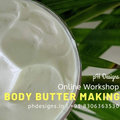 Body Butter Making Online Workshop