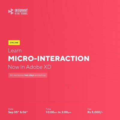 Micro-Interaction In Adobe XD