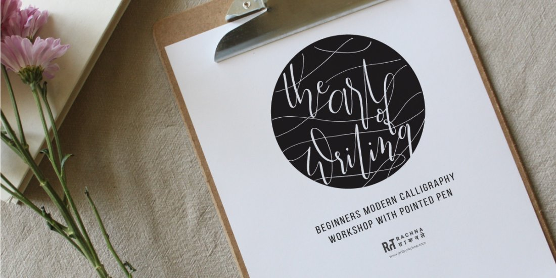 Online Modern Calligraphy Workshop With Material (For Beginners), 31 October | Online Event | AllEvents.in