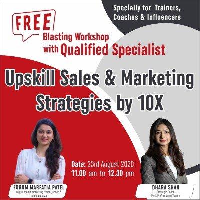 Upskill Sales & Marketing Strategies by 10X