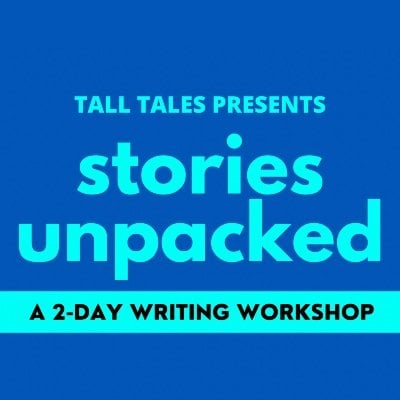 Stories Unpacked  2 Day Creative Writing Workshop