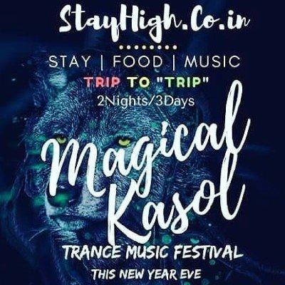 Magical Kasol New Year Eve Celebration(Music Festival) 6th Edition