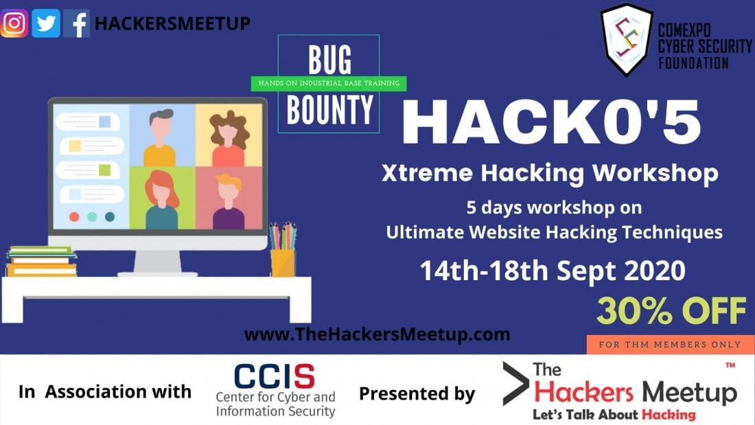Hack 05 - Xtreme Hacking Workshop