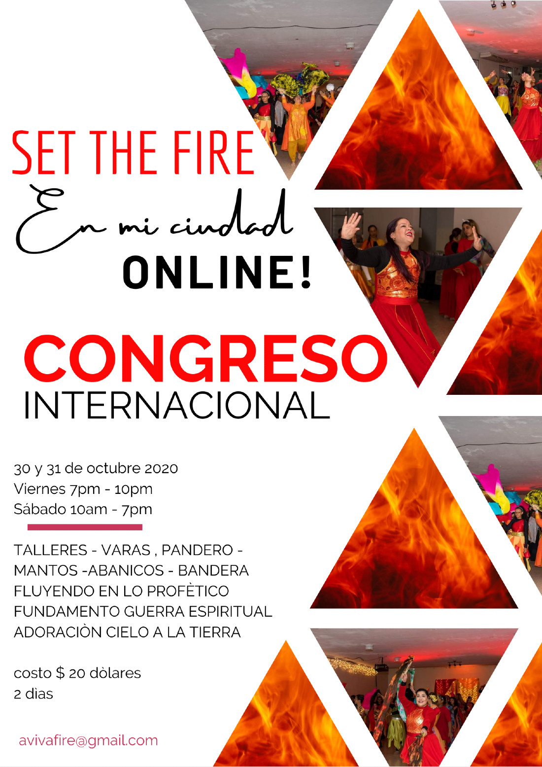 Set the Fire En mi Ciudad, 30 October | Online Event | AllEvents.in