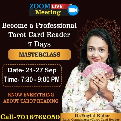 Dr.Yoginis Osho Zen Tarot Card Reading Basic To Advance Level Workshop