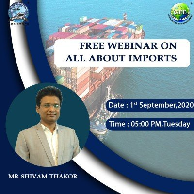 FREE Webinar on All about IMPORTS