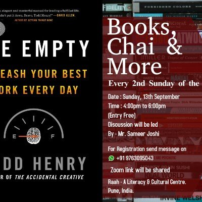 Books Chai and More (Online and at Raah)