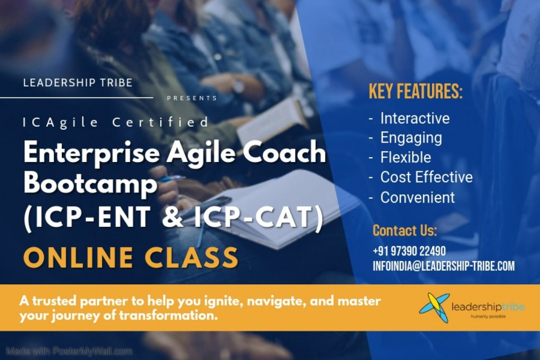 Enterprise Agile Coach Bootcamp | Virtual - February - Part Time, 1 February | Online Event | AllEvents.in