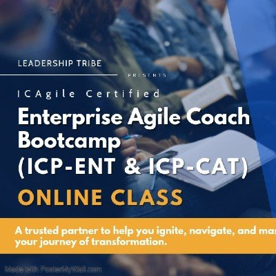 Enterprise Agile Coach Bootcamp  Virtual - February - Part Time