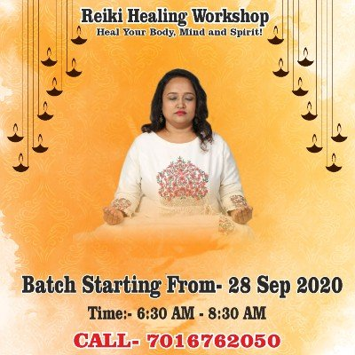 Dr.Yoginis Reiki Workshop (Level 1 2 & 3)