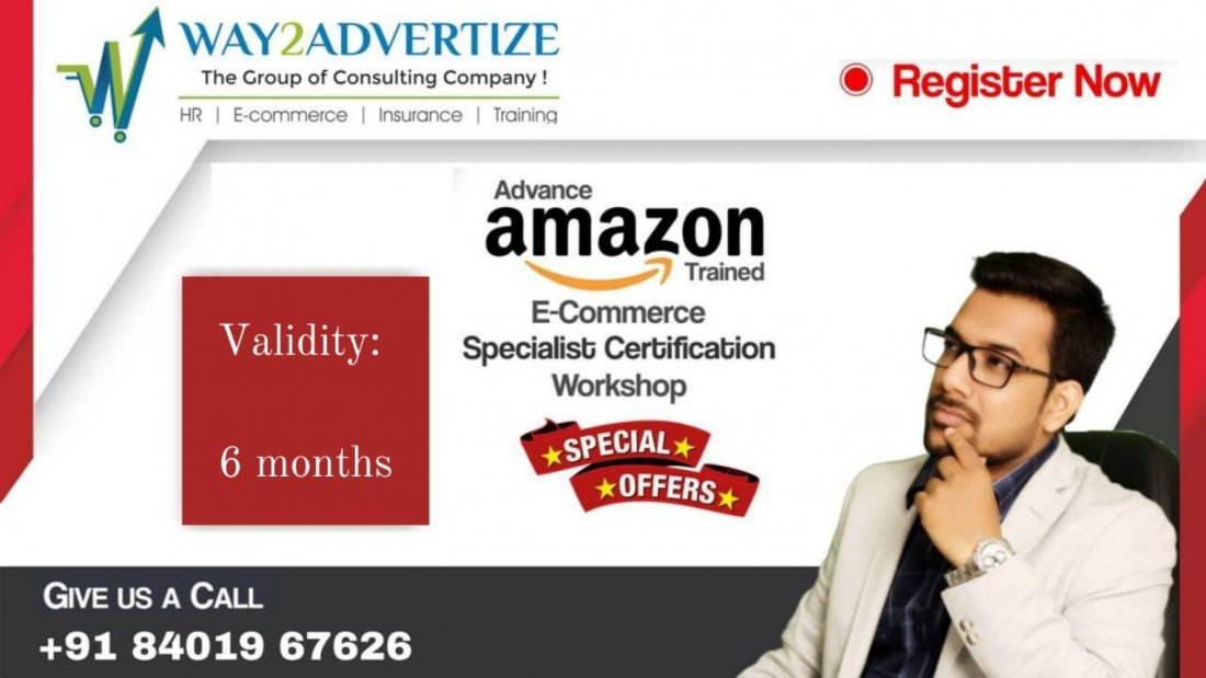 Advance Amazon Trained Ecommerce Specialist Certification Webinar by Mr. Krishna Choudhary   Online Event