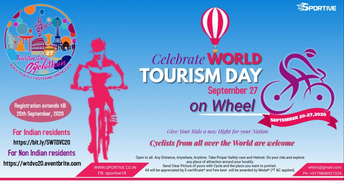 World Tourism Day Virtual Cyclothon 2020