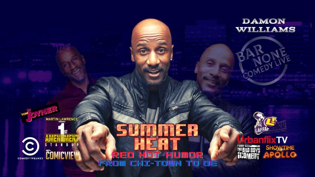 Damon Williams - Summer Heat , 21 August   Event in Wilmington   AllEvents.in