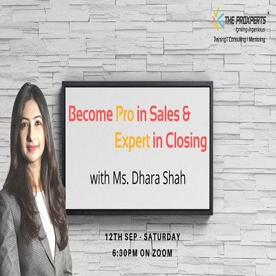 Become Pro in Sales & Expert in Closing
