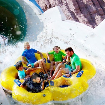 Visit of Yas Waterworld Abu Dhabi