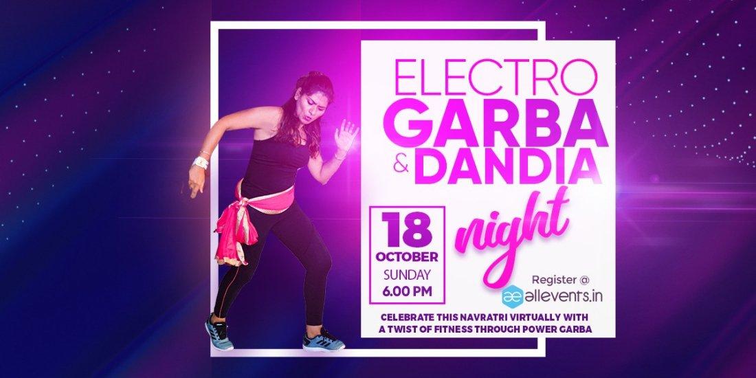 DANDIA NIGHT - POWER GARBA   Online Event   AllEvents.in