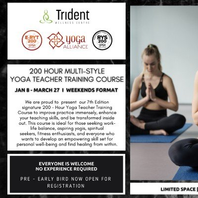 200 Hour Multi-Style Yoga Teacher Training Course